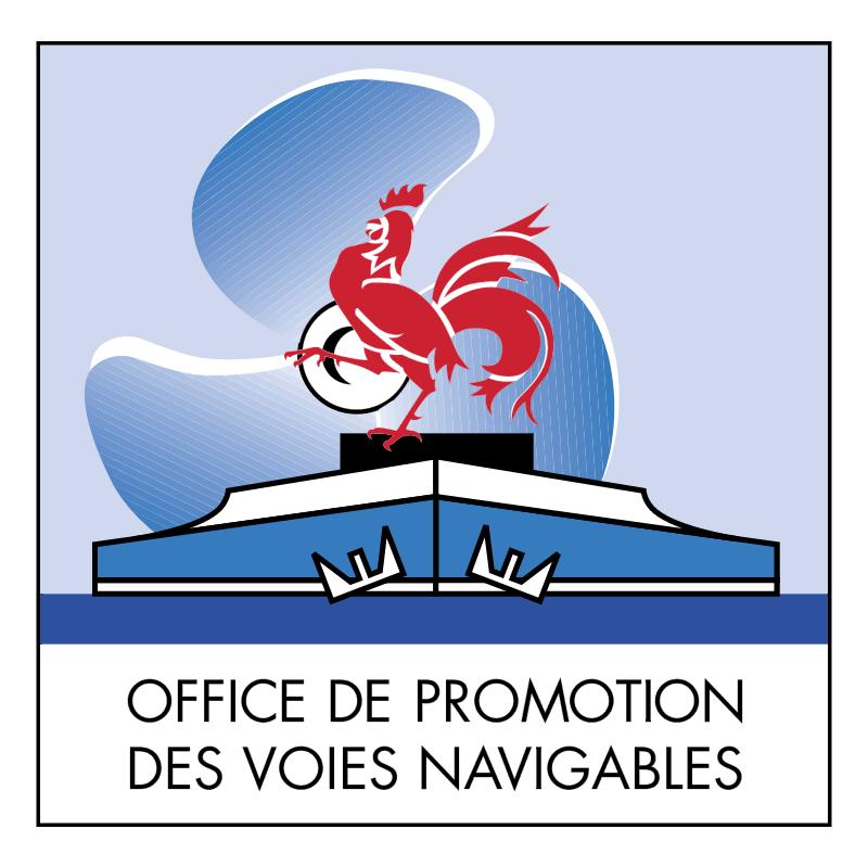 Office De Promotion Des Voies Navigables vector