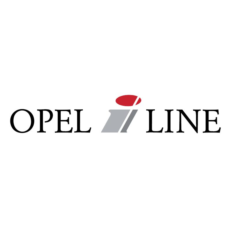 Opel i Line vector logo
