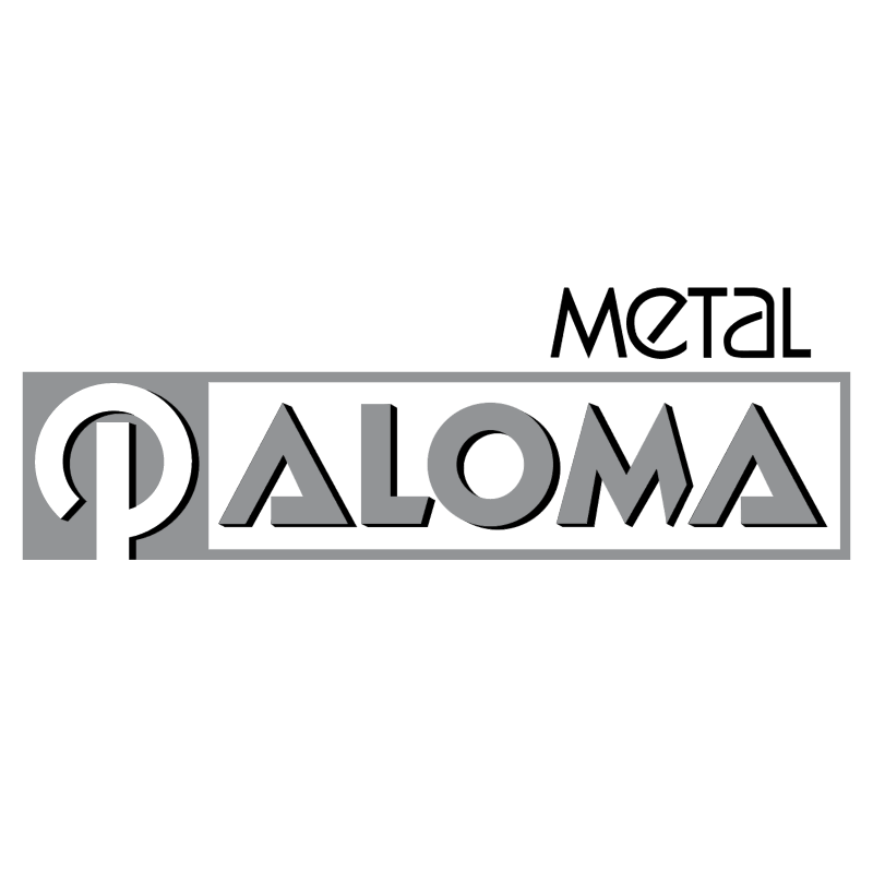 Paloma Metal vector