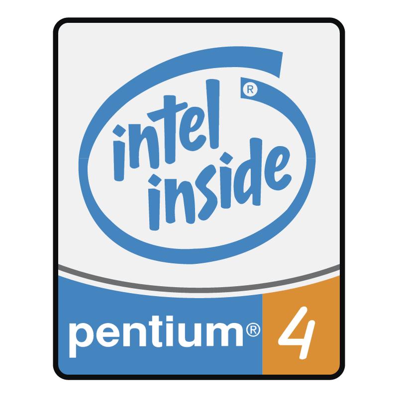 Pentium 4 Processor vector logo