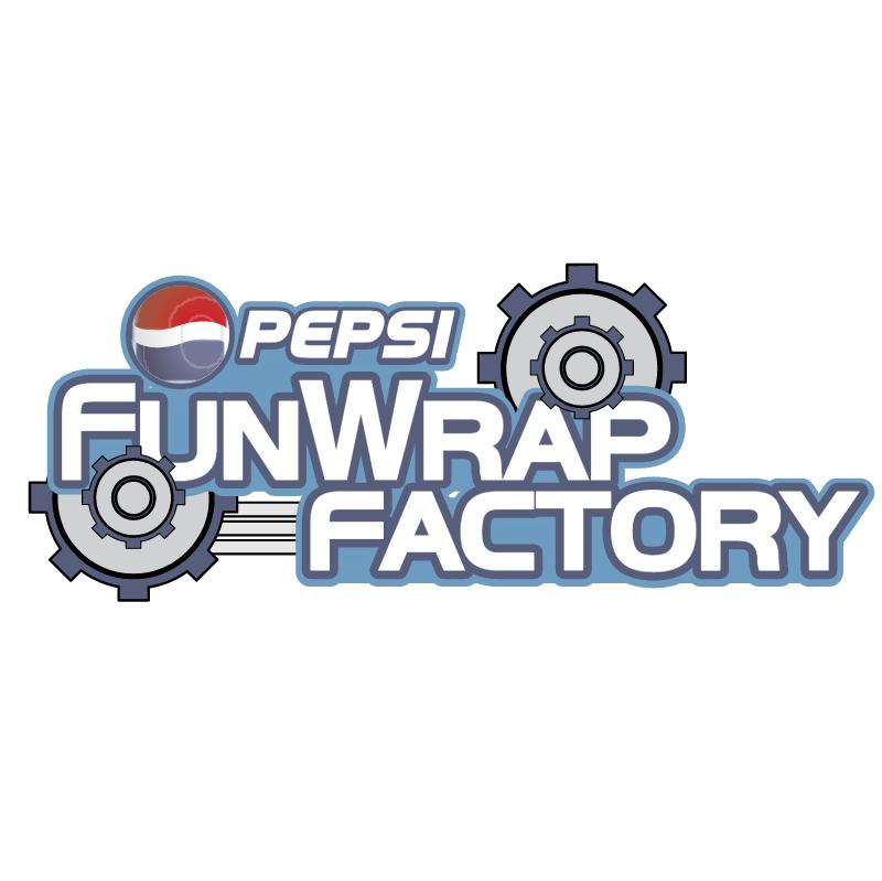 Pepsi FunWrap Factory vector