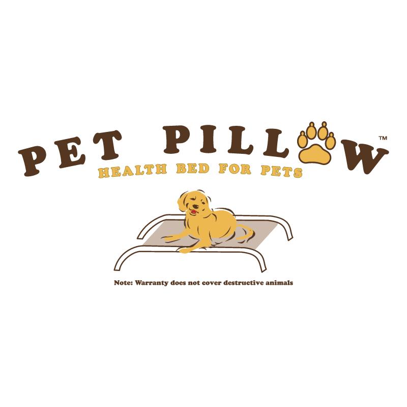 Pet Pillow vector logo