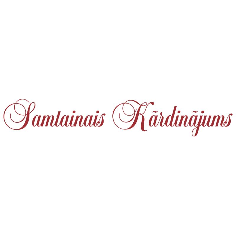 Samtainais Kardinajums vector logo