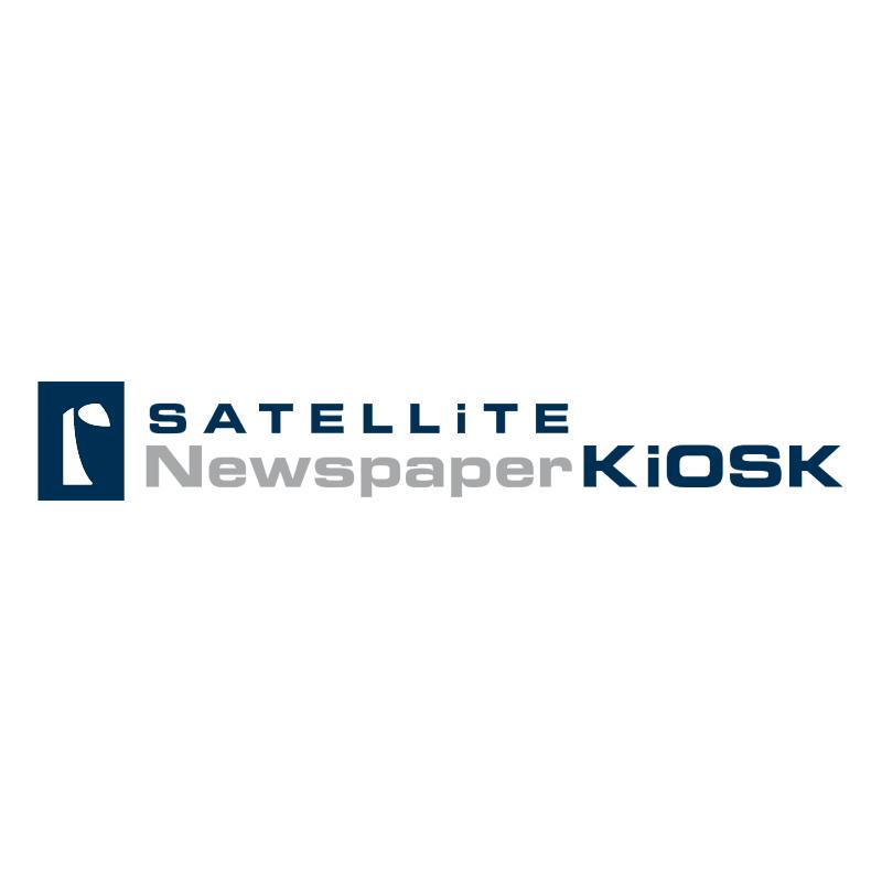 Satellite Newspaper KiOSK vector
