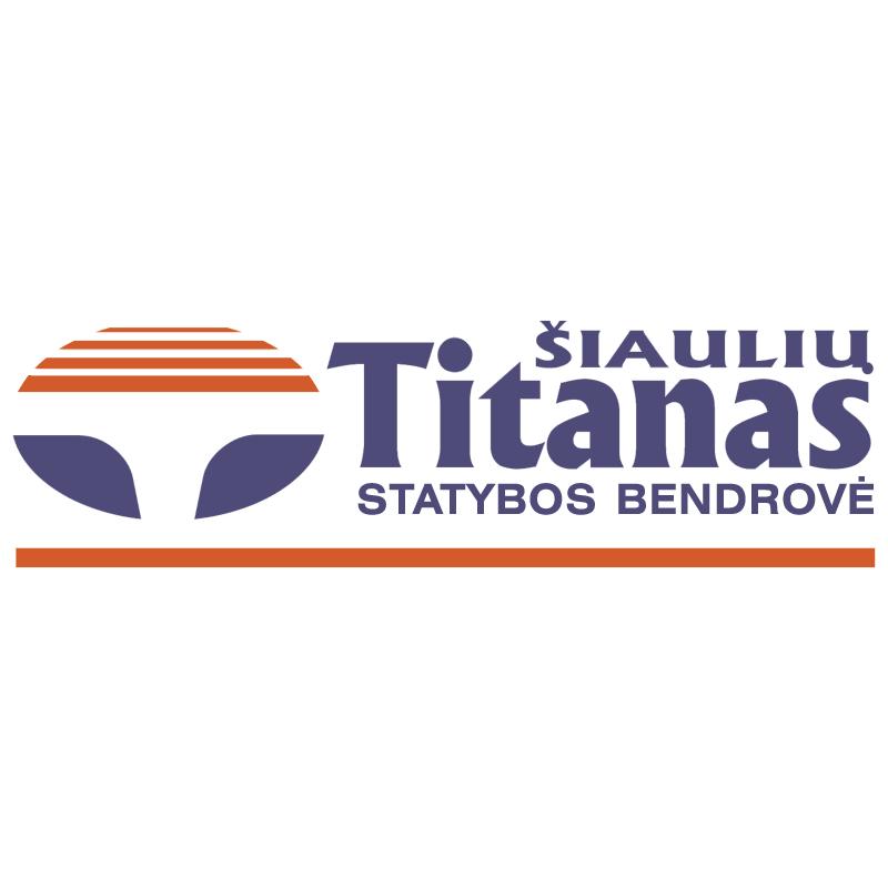 Siauliu Titanas vector logo