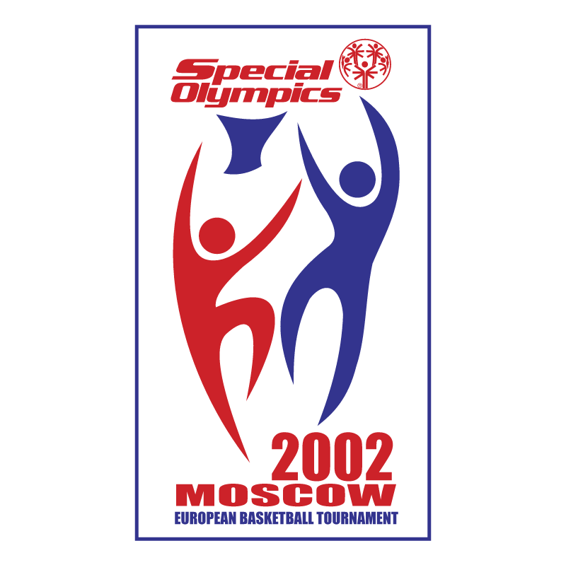 Special Olympics European Basketball Tournament vector