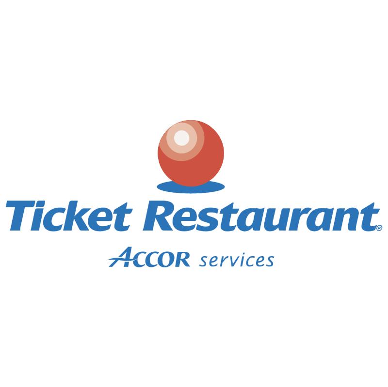 Ticket Restaurant vector