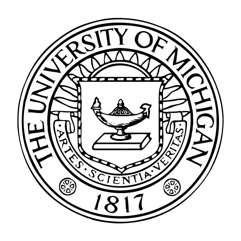 University of Michigan vector