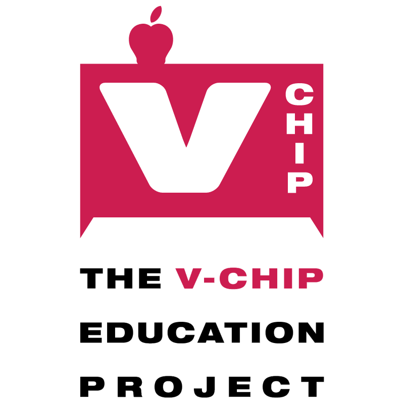 V chip Education Project vector