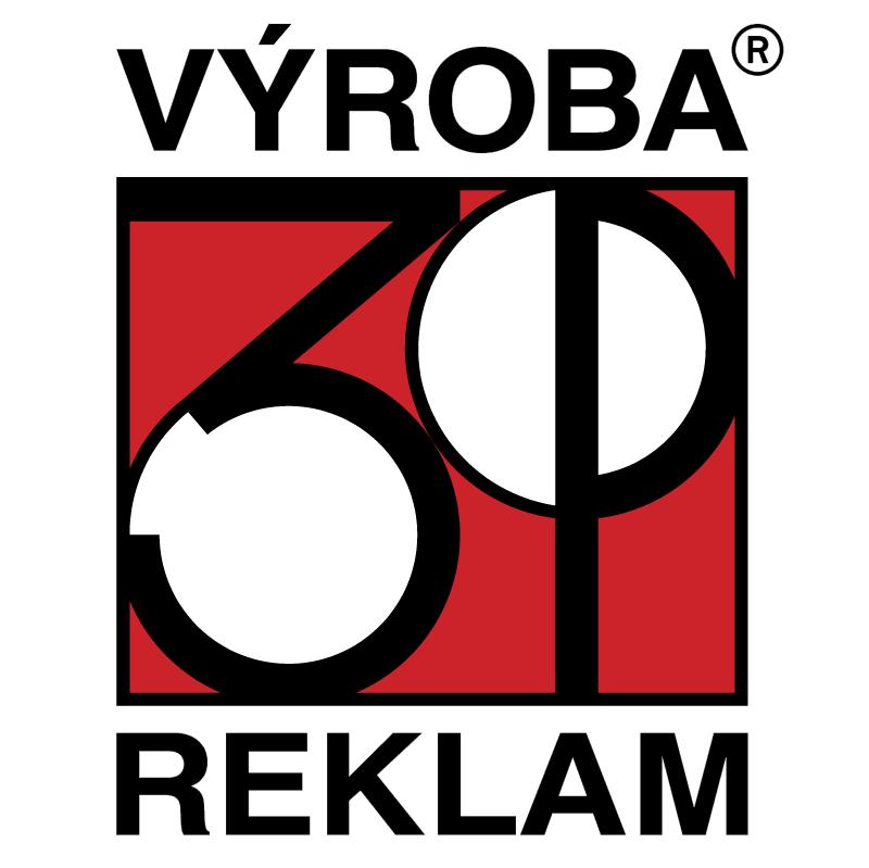 3P Vyroba Reklam vector logo