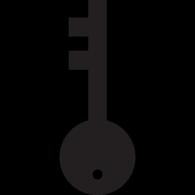 Large key vector logo