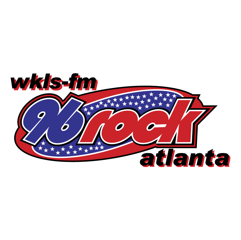 96 Rock WKLS FM vector
