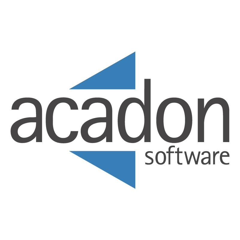 Acadon Software 39768 vector logo
