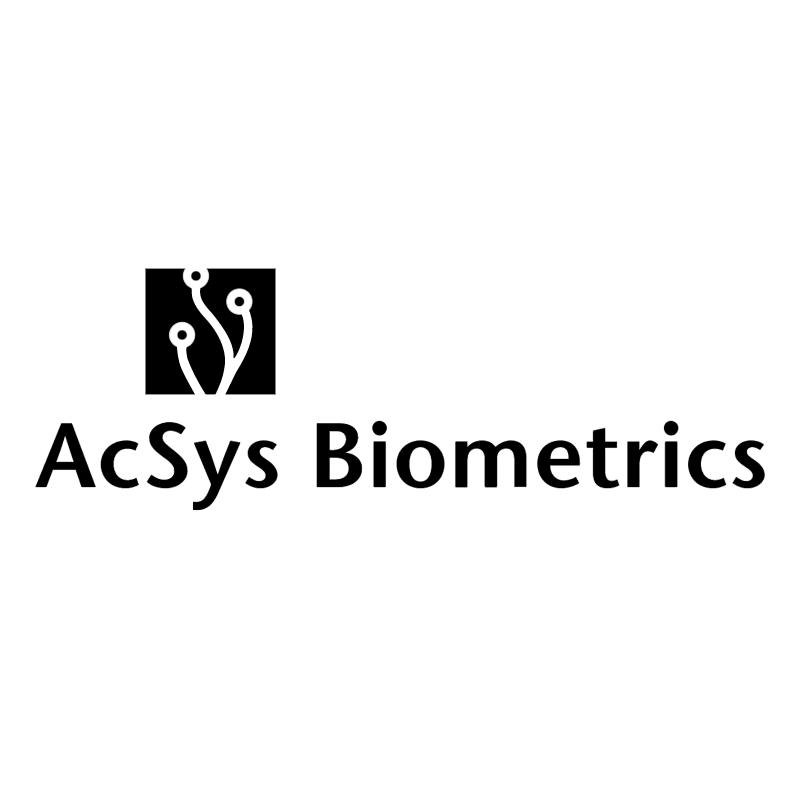 AcSys Biometrics vector