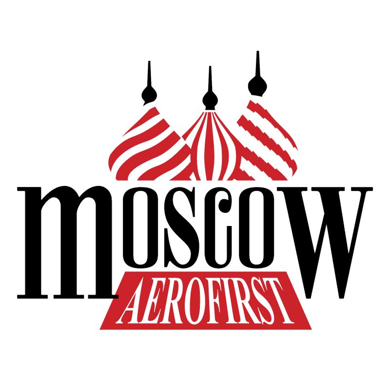 Aerofirst Moscow 71021 vector