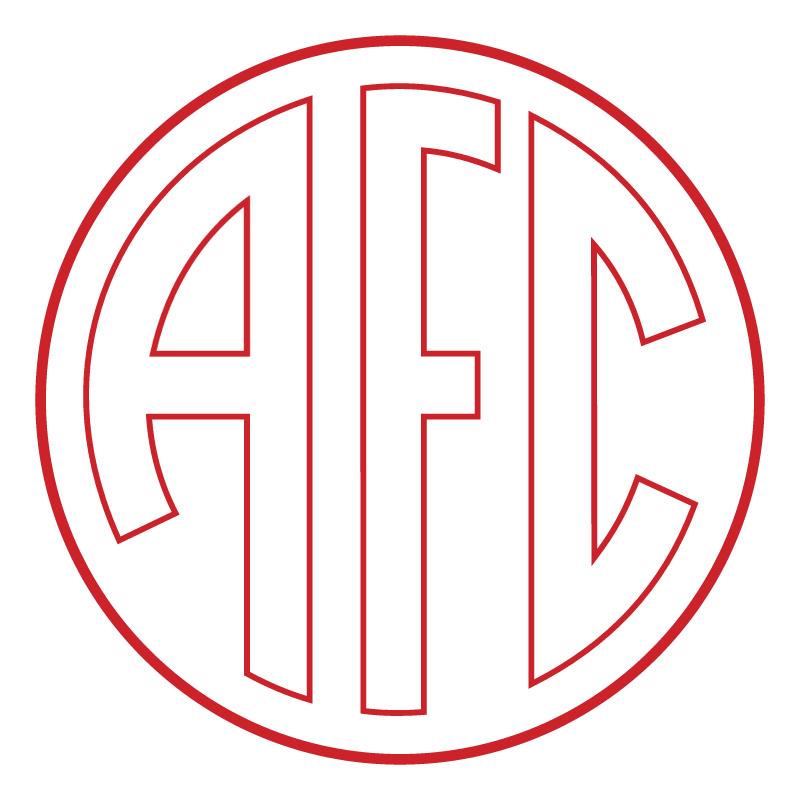 America Futebol Clube de Manhuacu MG 77555 vector