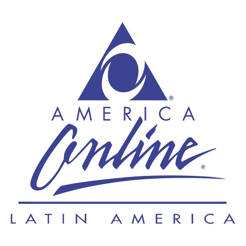America Online vector