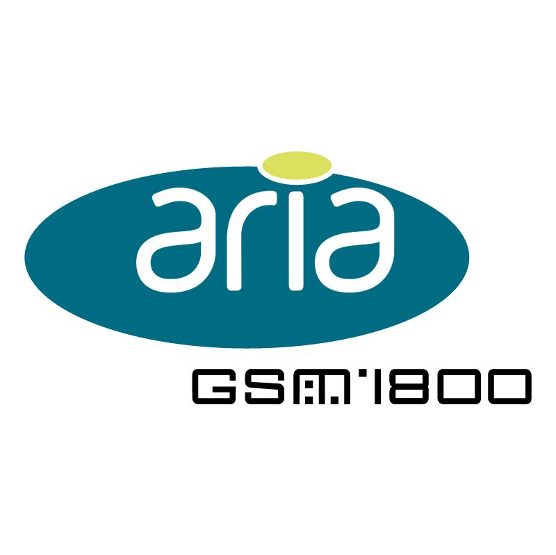 Aria GSM 1800 44468 vector logo