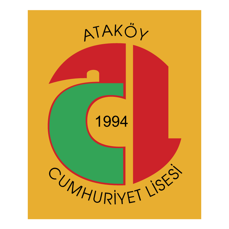 Atakoy Cumhuriyet Lisesi vector