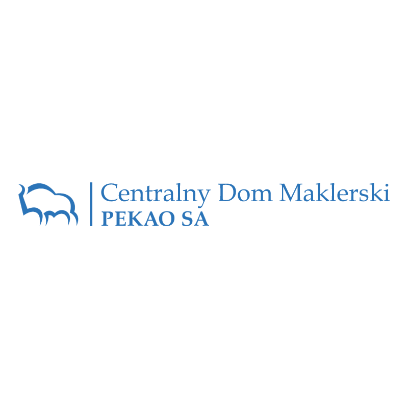 Bank Pekao Centralny Dom Maklerski 69651 vector
