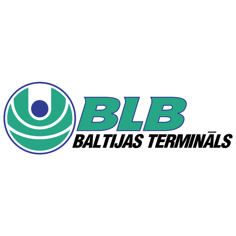 BLB Baltijas Terminals vector