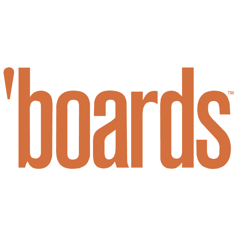 Boards Magazine vector