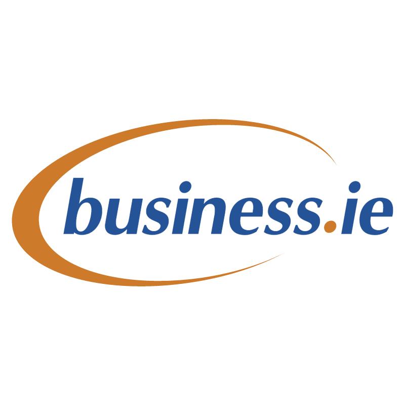 Business ie vector logo