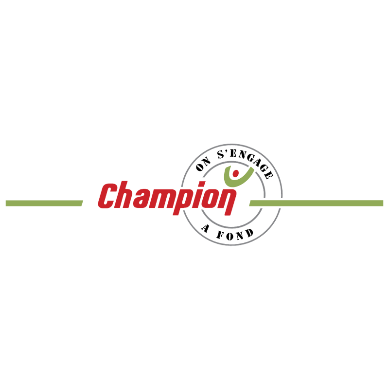 Champion on S'Engage 1163 vector
