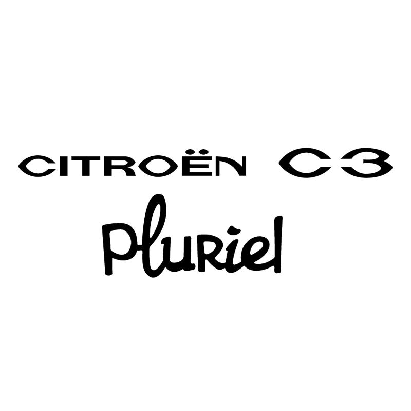 Citroen C3 Pluriel vector