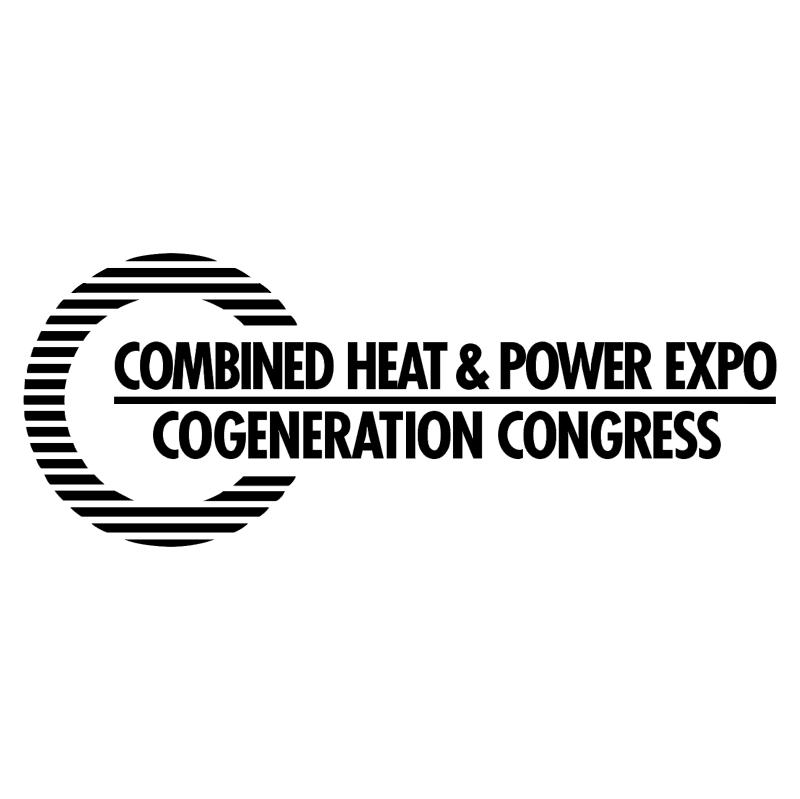 Combined Heat & Power Expo vector logo