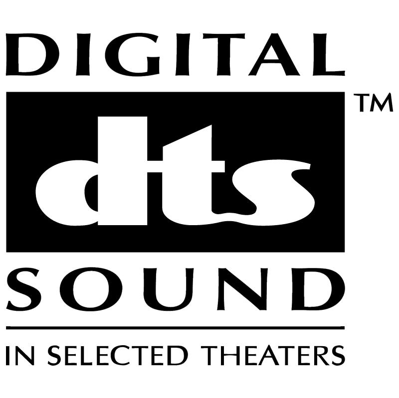 Digital DTS Sound vector