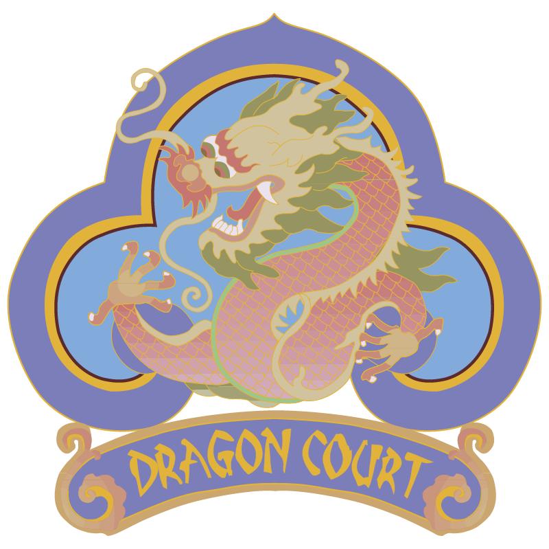 Dragon Court vector