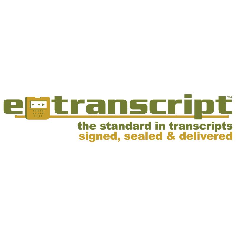 e transcript vector