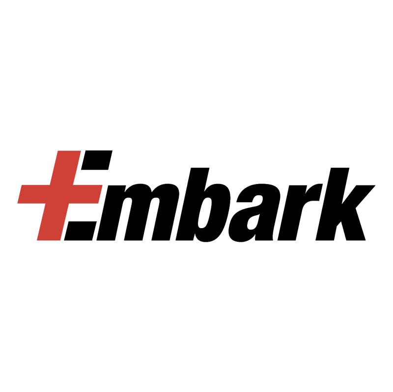 Embark vector logo
