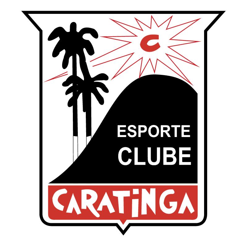 Esporte Clube Caratinga de Caratinga MG vector
