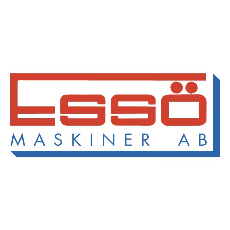 Esso Maskiner vector