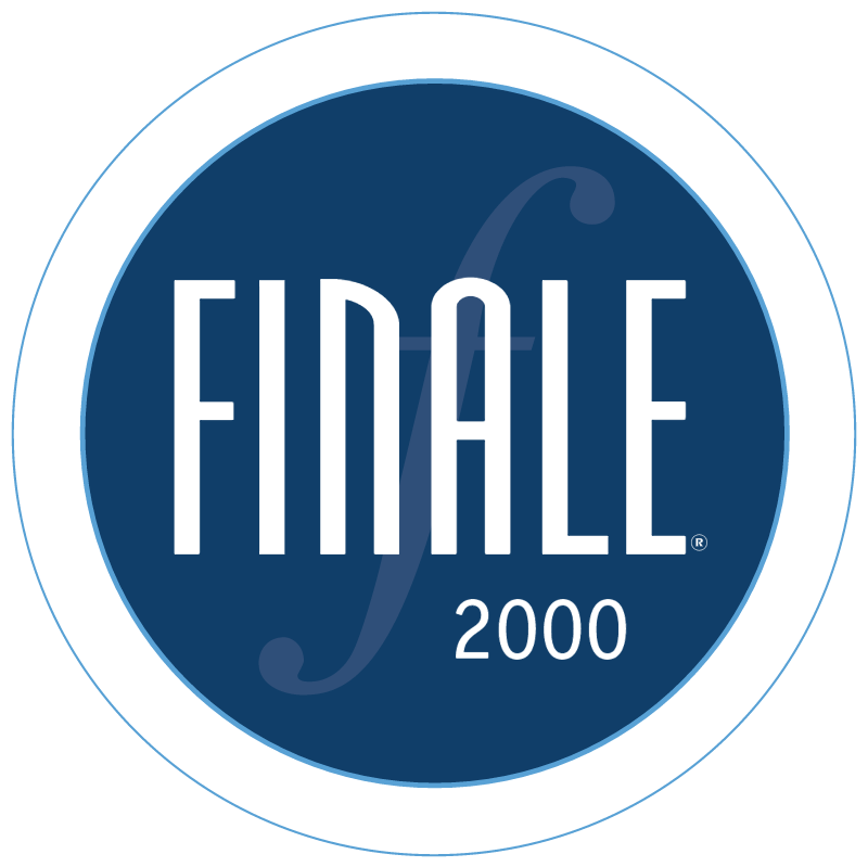 Finale 2000 vector