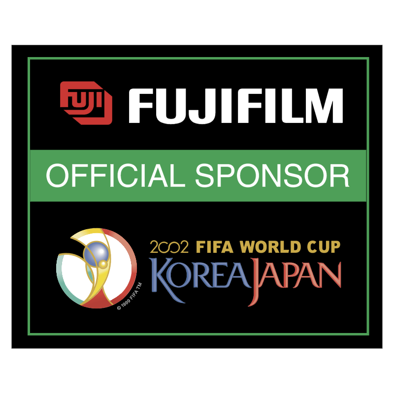 Fujifilm 2002 World Cup Sponsor vector