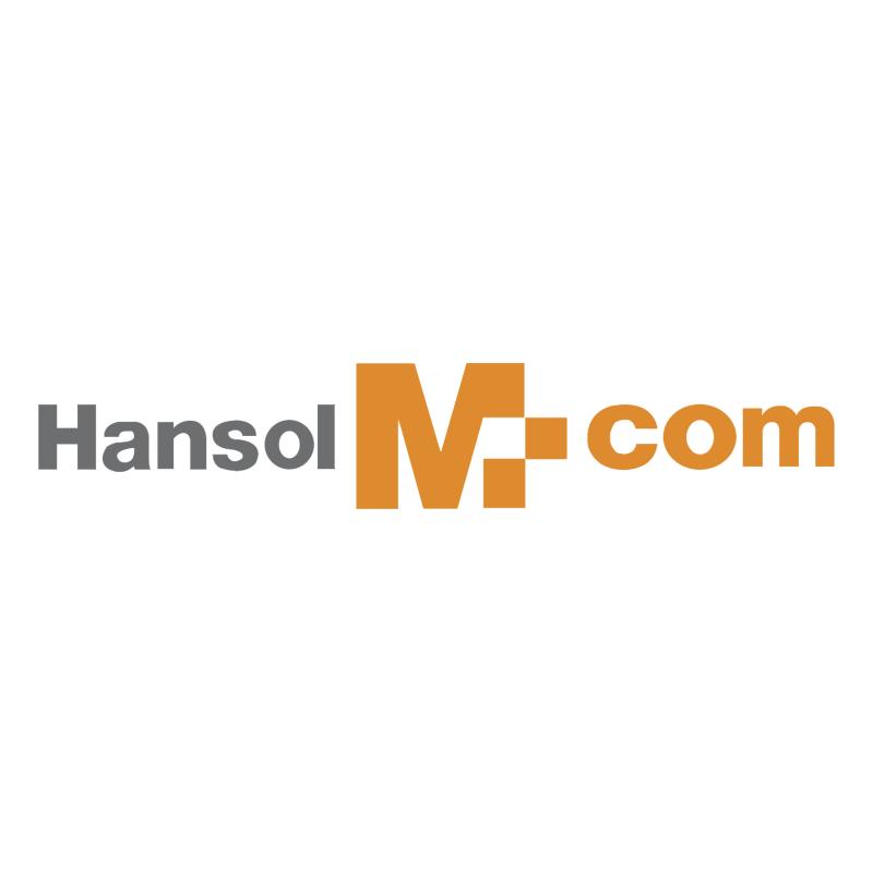Hansol M com vector logo