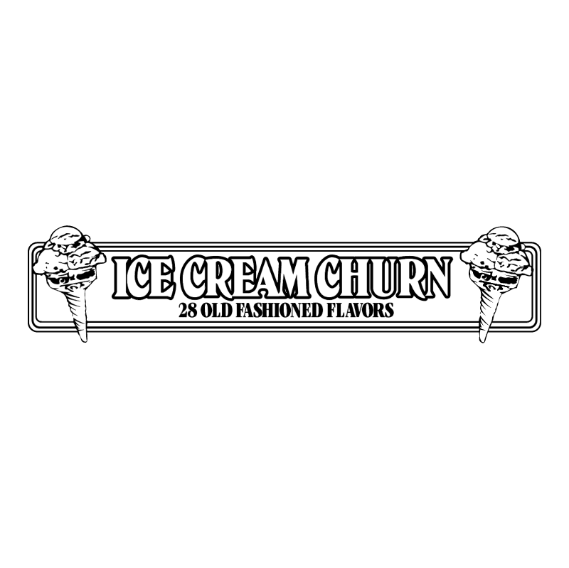Ice Cream Churn vector