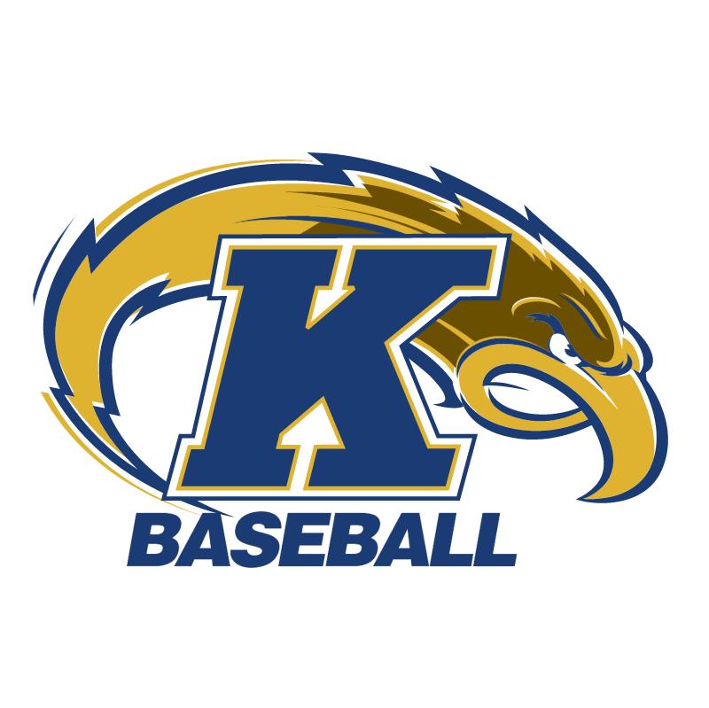 Ken State Baseball vector
