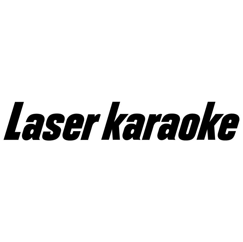 Laser Karaoke vector