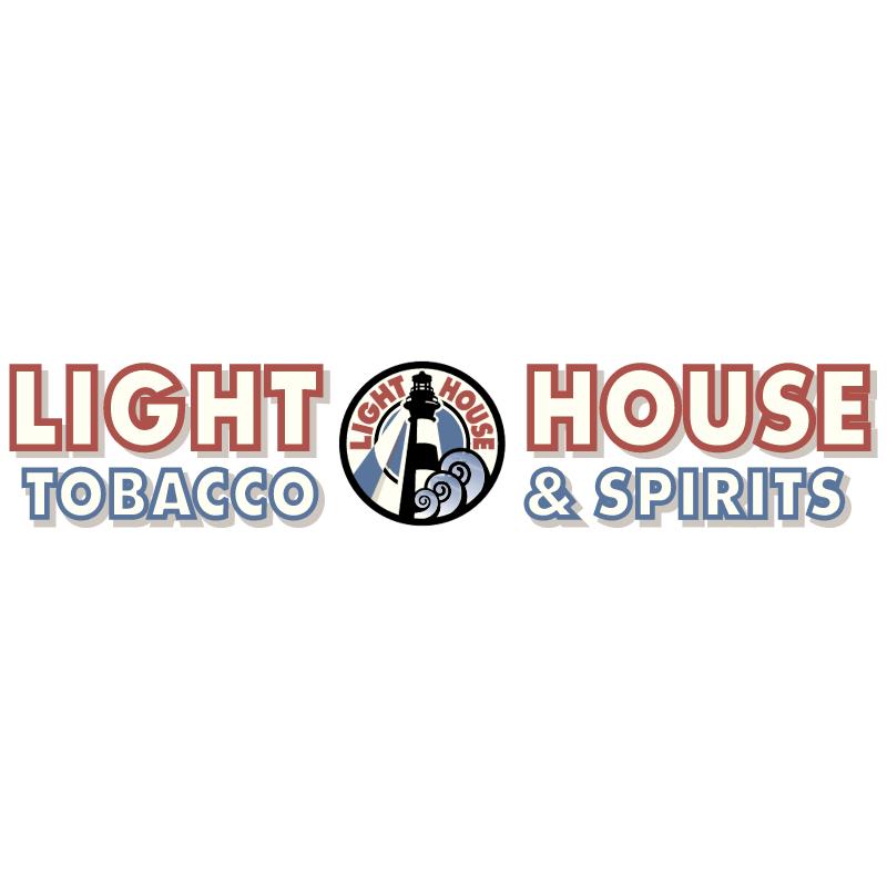 Light House Tobacco & Spirits vector