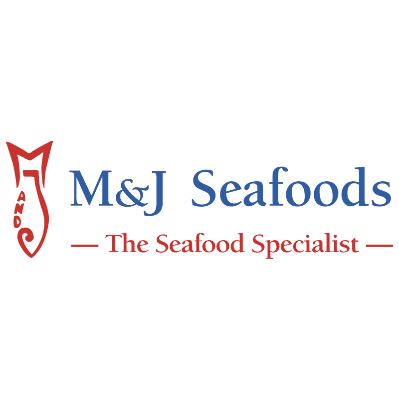 M&J Seafoods vector