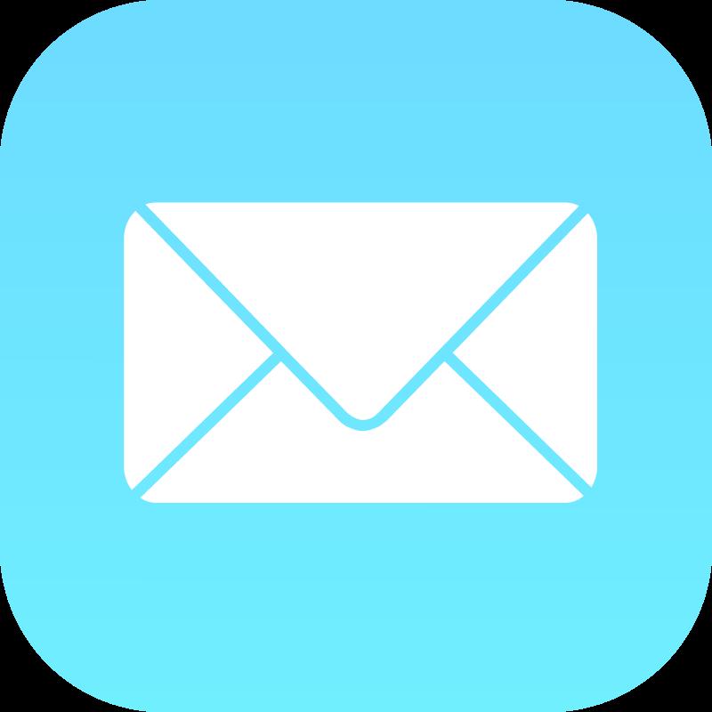 Mail iOS vector