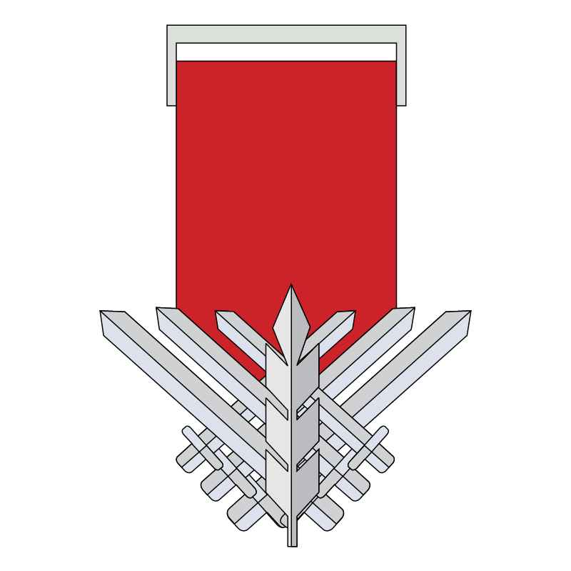 Medal of Courage vector