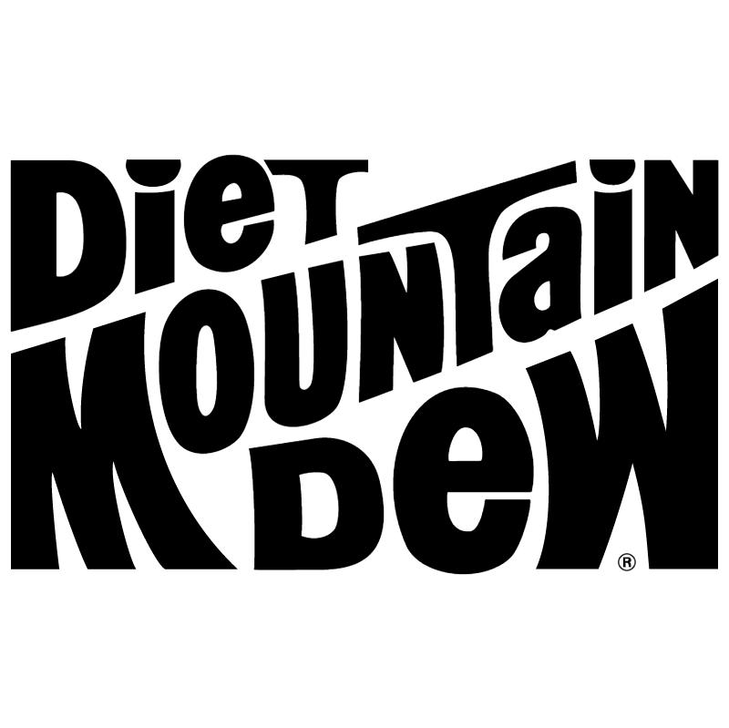 Mountain Dew Diet vector