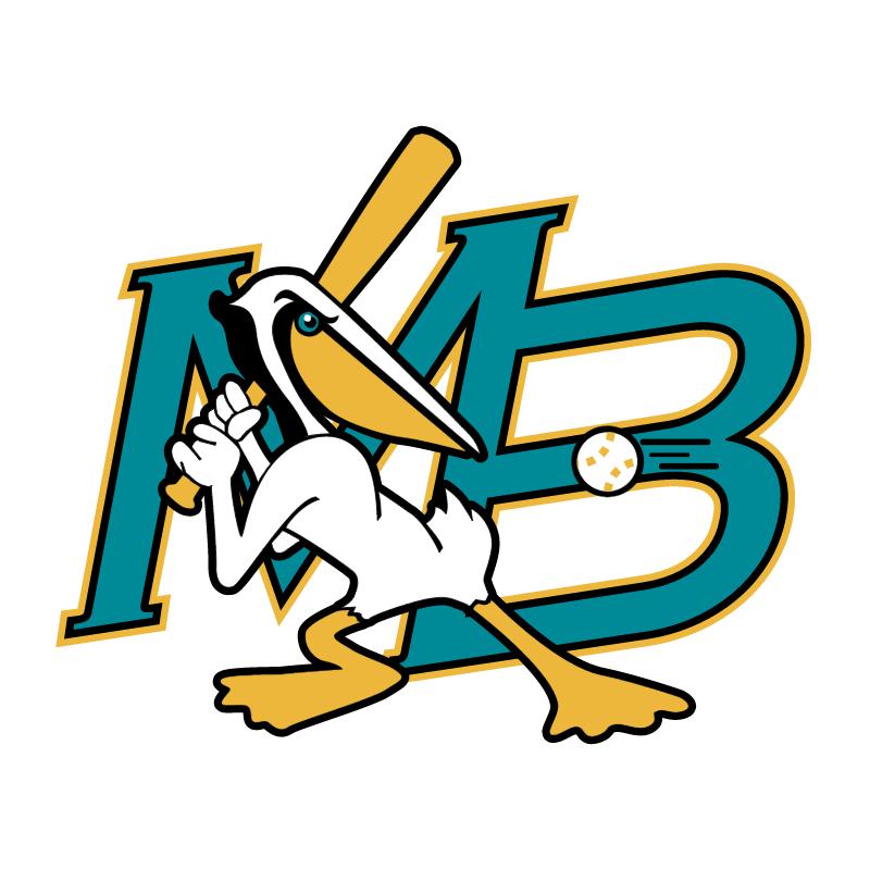 Myrtle Beach Pelicans vector logo