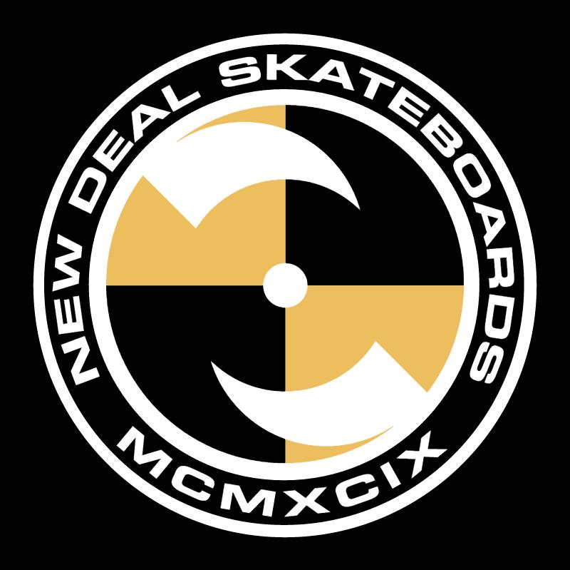 New Deal Skateboard vector logo