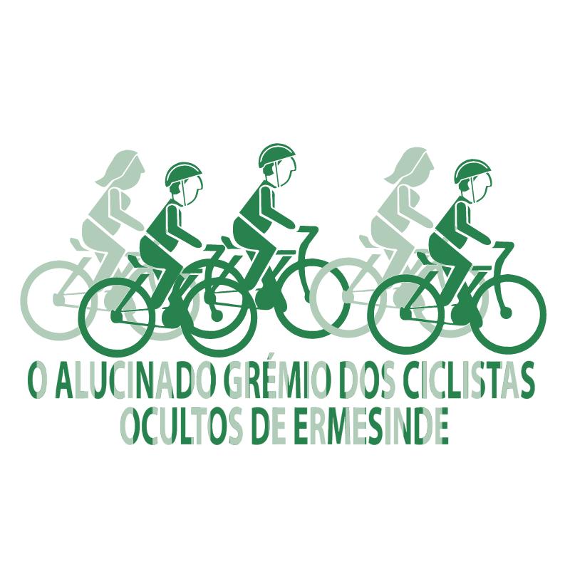 O Alucinado Gremio Dos Ciclistas vector
